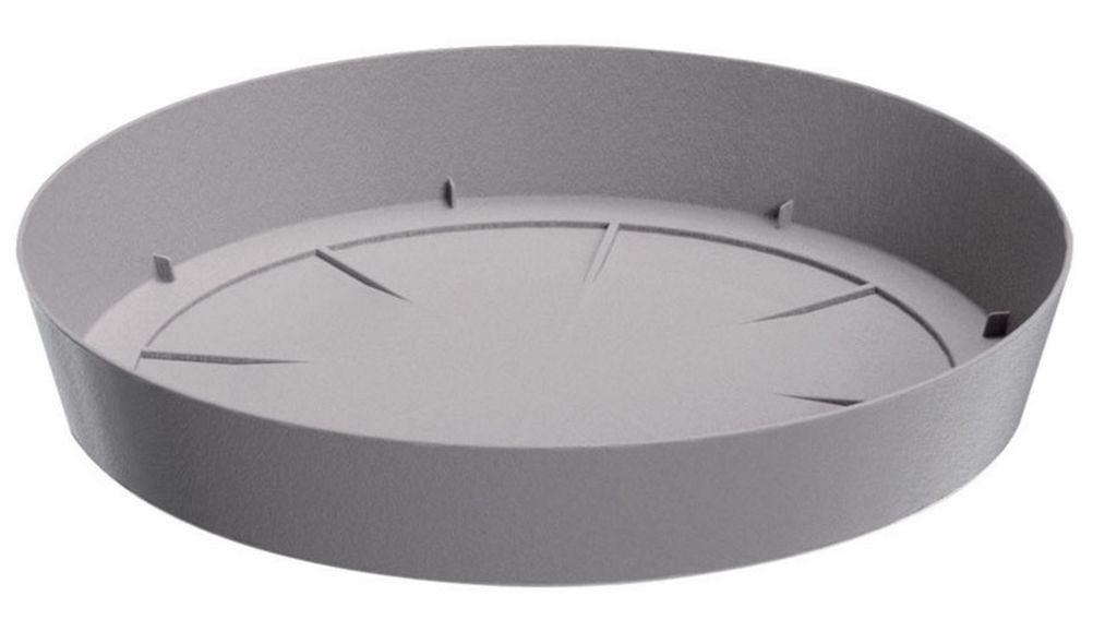PROSPERPLAST LOFLY Untersatz rund 10,5 cm grau PPLF105 PPLF105-405U