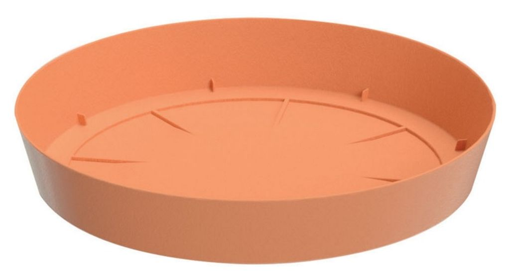 PROSPERPLAST LOFLY Untersatz rund 10,5 cm terracotta PPLF105 PPLF105-R624